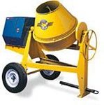 Concrete Mixer Gas