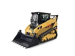3000 lb Lift Capacity Skid Steer Track Loader