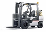 Solid Tire Warehouse Forklift