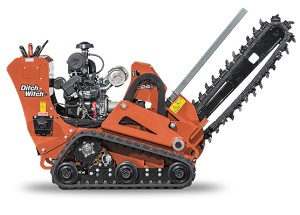 24 hp Walk-behind Trencher