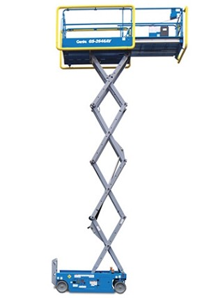26 ft Self-propelled Electric Scissor Lift