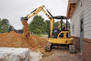 10.5 ft Reach Mini Excavator